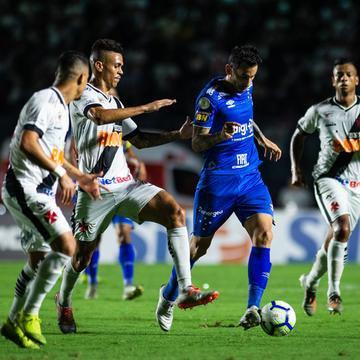 Cruzeiro perdeu para o Vasco e pode ter rebaixamento confirmado na Arena, diante do Grêmio
