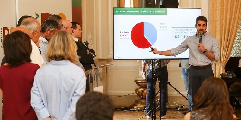 Governador apresentou novas propostas para o pacote de reformas