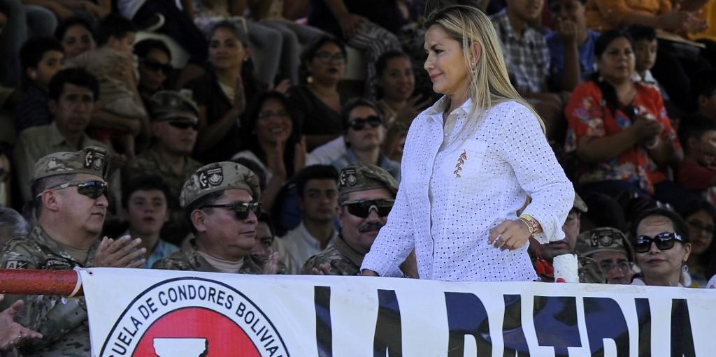 Jeanine Añez é quem está à frente da Bolívia