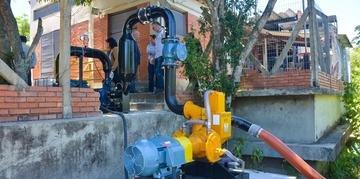 Estação de tratamento de água compacta automatizada Belém Novo vai minimizar o problema já que a solução definitiva será com construção da Estação de Tratamento de Água (ETA) Ponta do Arado