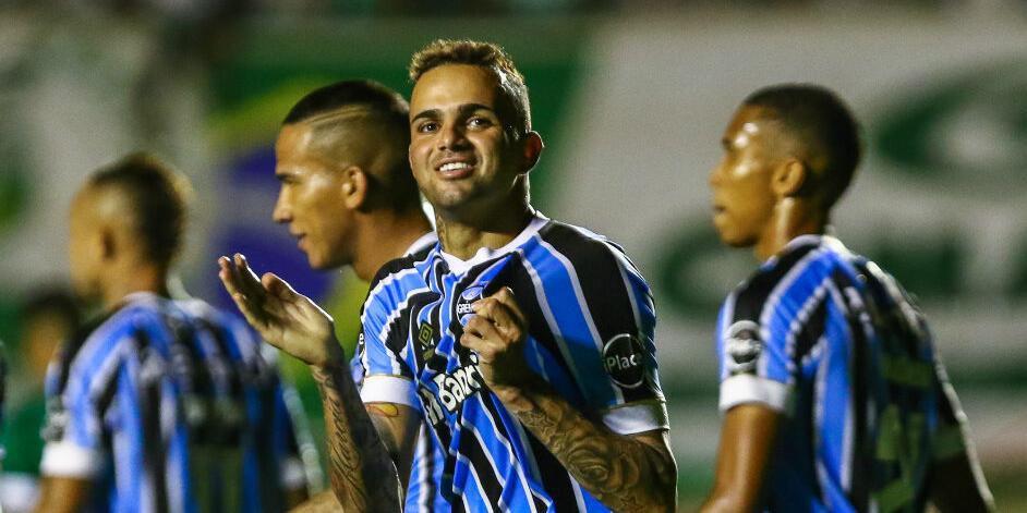 Foram 75 gols com a camisa do Grêmio