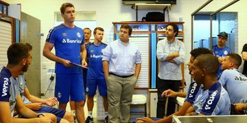 Thiago Gomes falou sobre o trabalho no time de transição do Grêmio