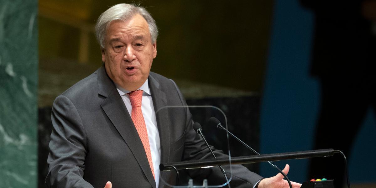 De acordo com Guterres, uma pausa nos combates ajudará a criar corredores para o transporte de ajuda vital