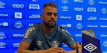 Maicon garantiu que participará de toda a pré-temporada do Grêmio