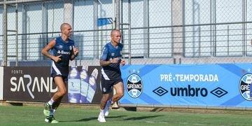 Elenco Grêmio se reapresentou no CT Luiz Carvalho para a temporada 2020