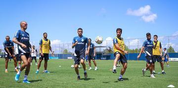 Atividade da manhã de domingo foi a primeira do grupo principal do Grêmio com bola na temporada 2020