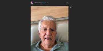 Apresentador gravou vídeo sobre o incidente