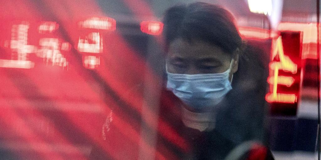 O uso de máscaras tem sido a prevenção mais eficaz para evitar o contágio na China