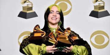 Billie Eilish foi a grande vencedora da última edição do Grammy
