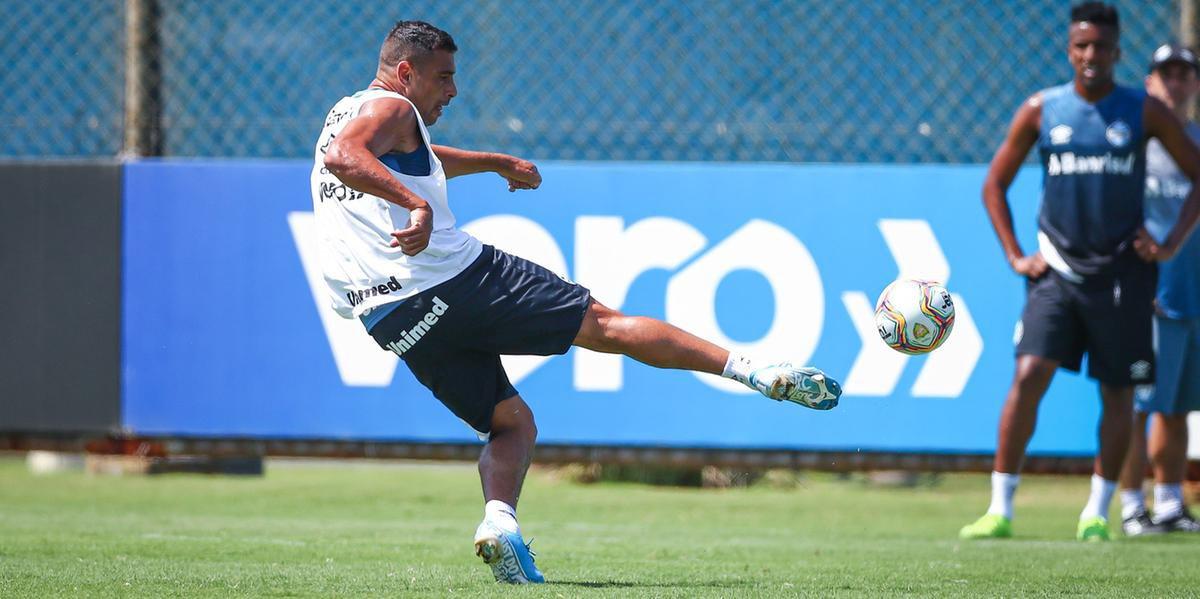 Diego Souza foi uma das principais contratações do Grêmio
