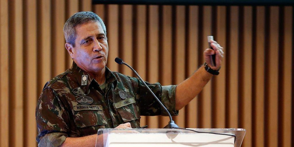 Braga Netto assume como ministro-chefe da Casa Civil na terça-feira
