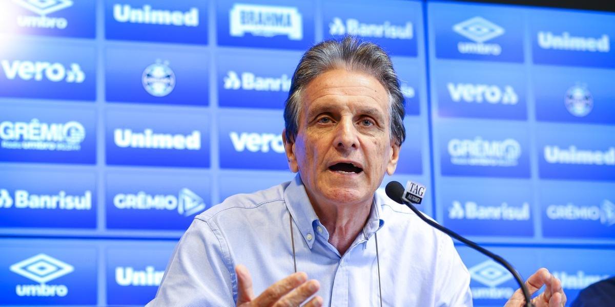 Grêmio concedeu férias até o dia 21 de abril
