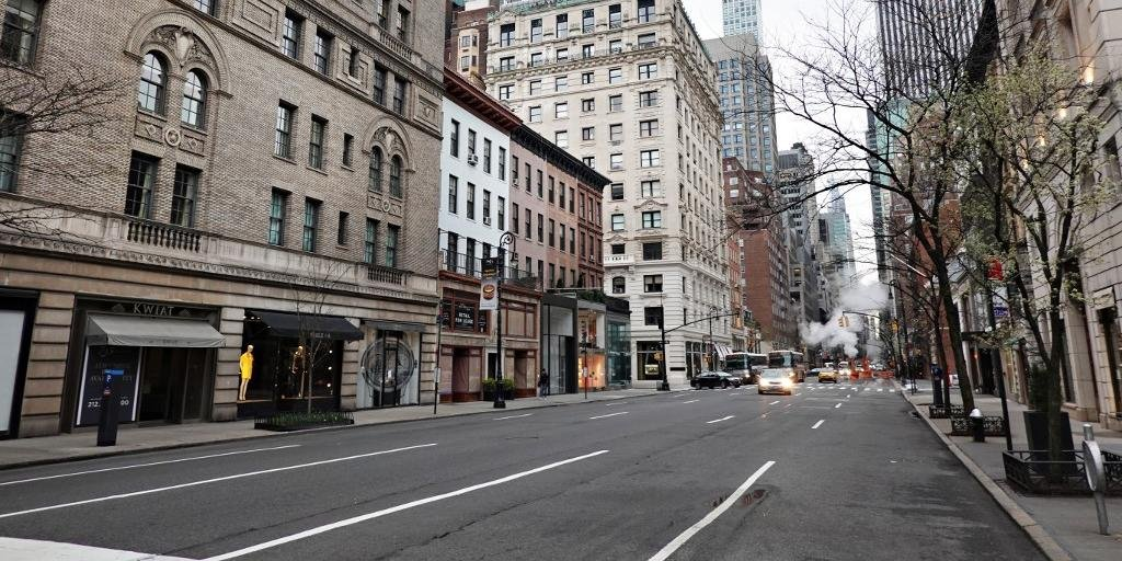 Nova Iorque está vazia diante da epidemia de Coronavírus