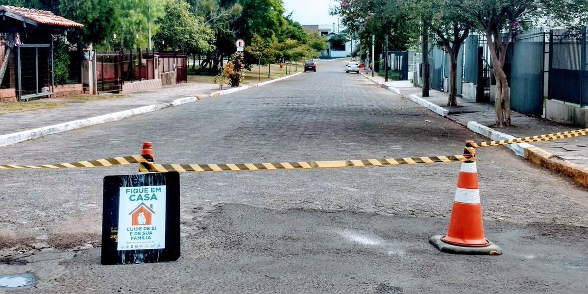 Parque do Trabalhador foi interditado neste domingo pela prefeitura de Taquara