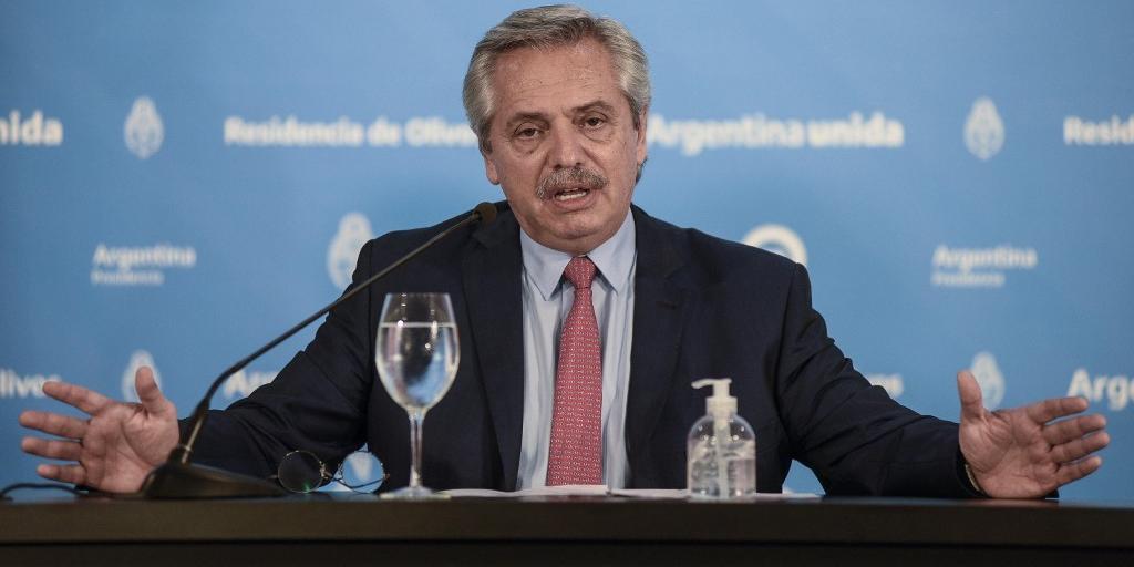 Fernández considera que Bolsonaro não entende a gravidade da situação envolvendo o novo coronavírus