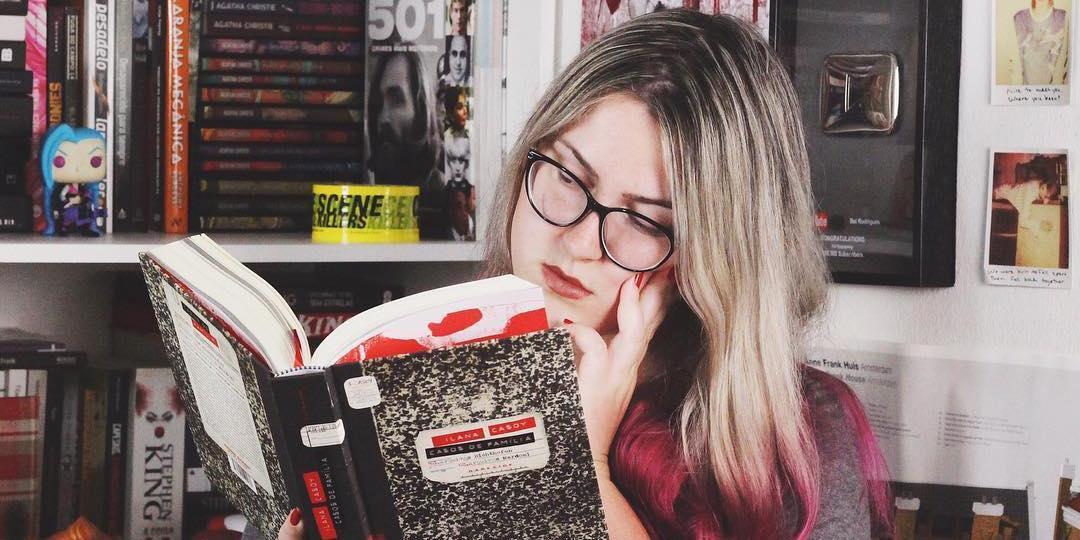 Bel Rodrigues tem um canal no YouTube que discute literatura e criminalidade