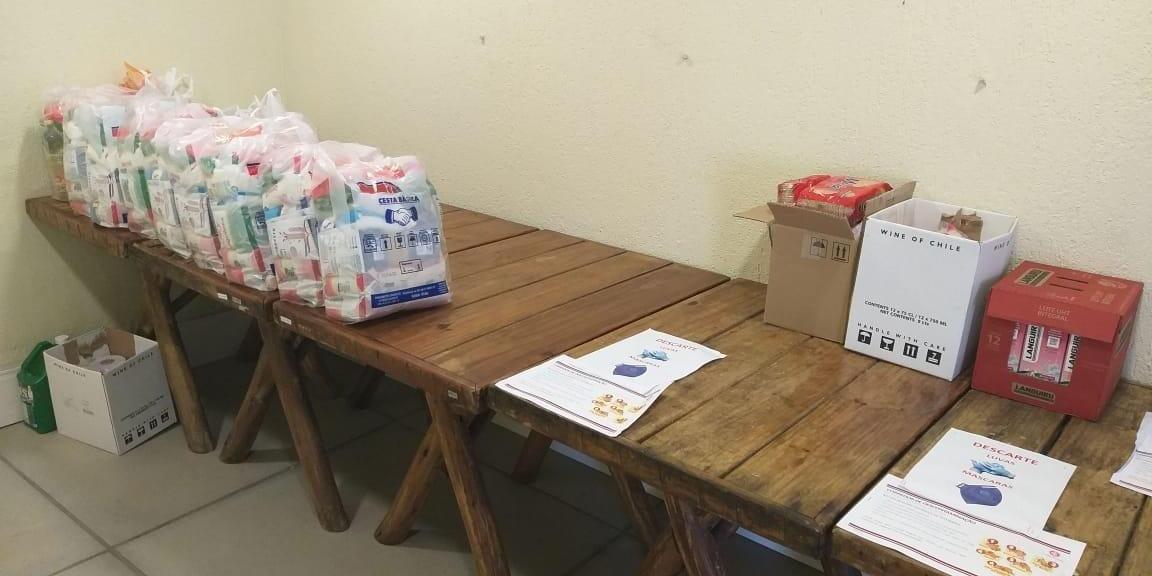 Doações já começaram a ser entregues no Beira-Rio através do Drive-Thru Solidário