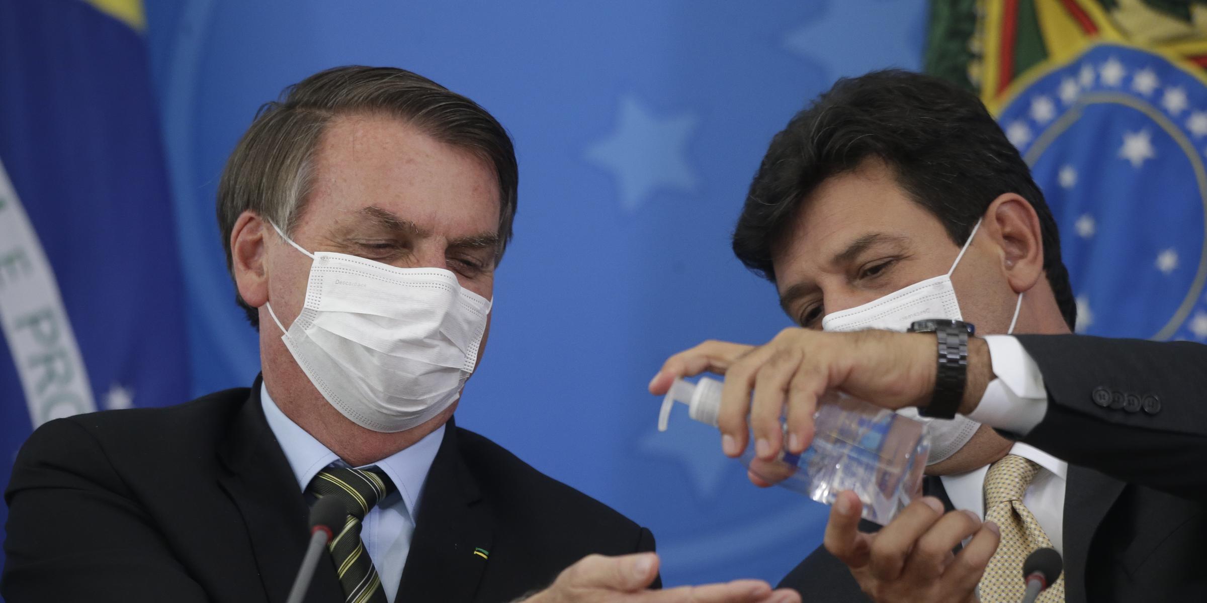 Ex-ministro criticou postura de Bolsonaro no enfrentamento à pandemia