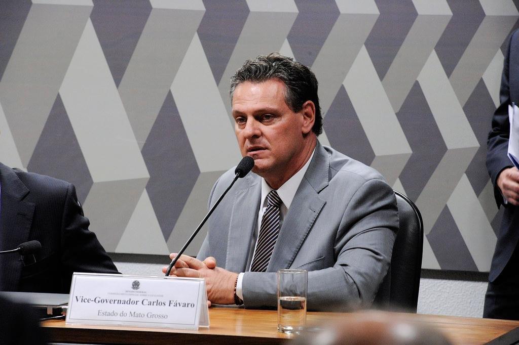 Senado dá posse a Carlos Fávaro após cassação de Juíza Selma