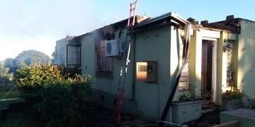 Incêndio atingiu casa  em Tupanciretã