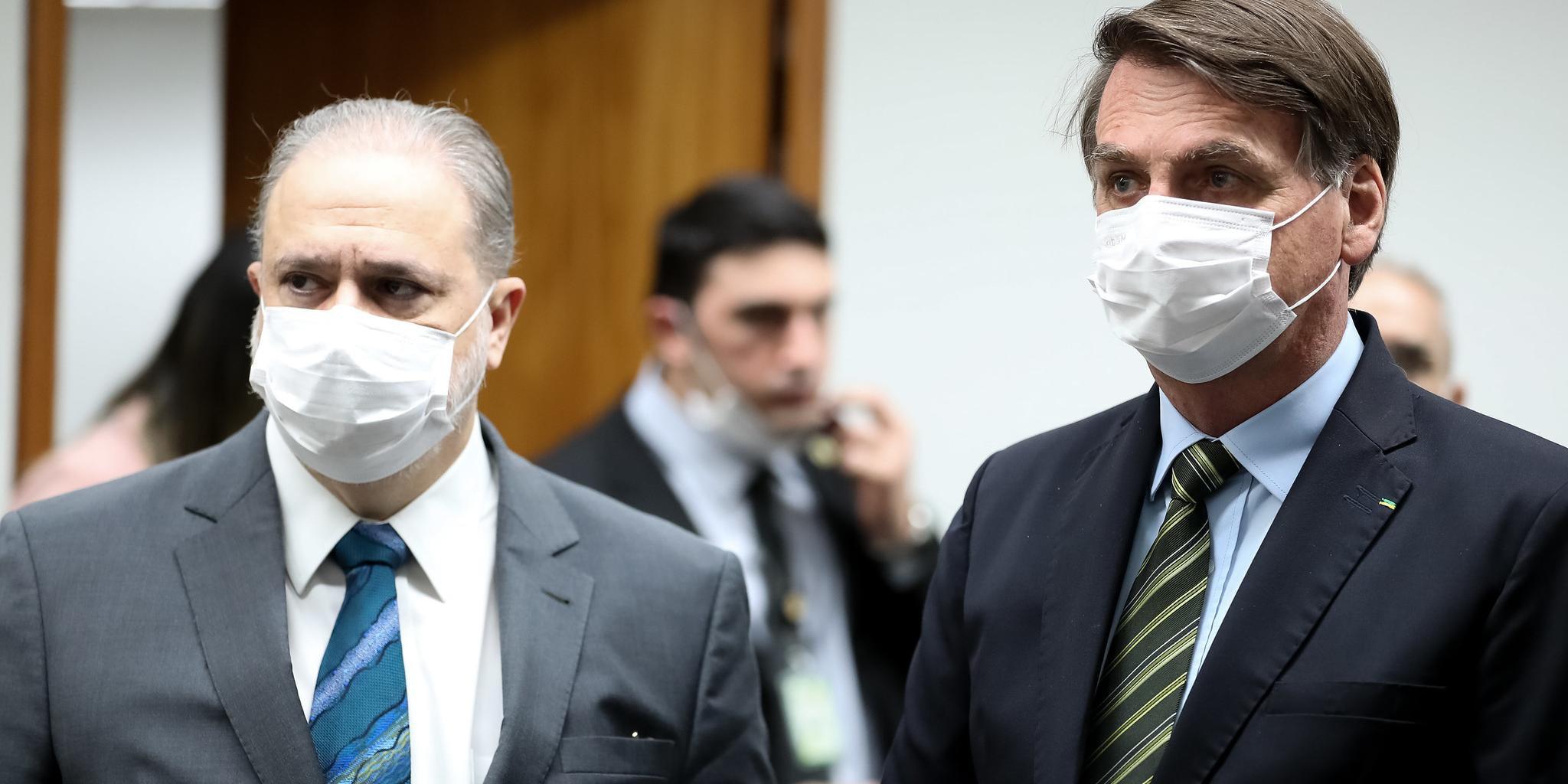 Bolsonaro anunciou que propôs a recondução de Augusto Aras para PGR