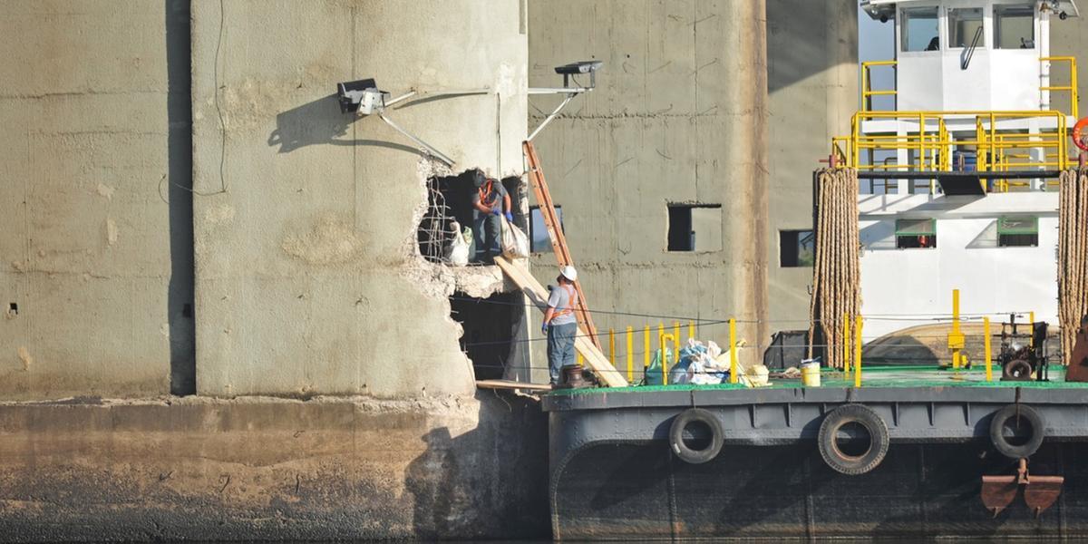 Oito içamentos devem deixar de ser realizados no período das obras de reparo da ponte do Guaíba