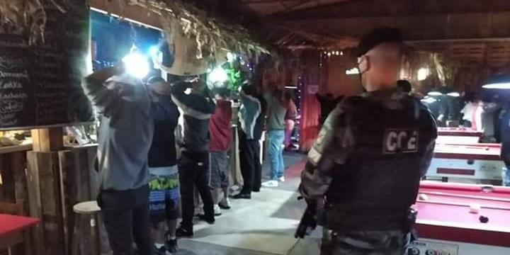 Brigada Militar fez ação em pub de Canoas
