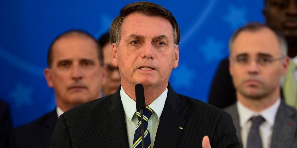 Presidente Bolsonaro divulgou nota afirmando que divulgação de dados é clara medida de intimidação