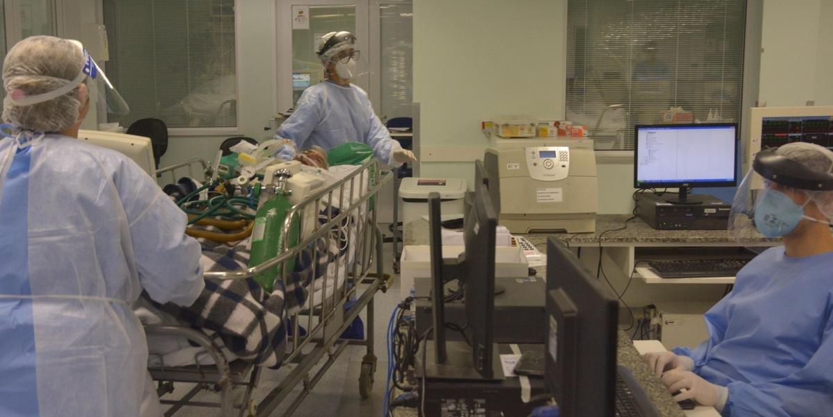 Hospitais da Capital registraram alta no número de internações em leitos de UTI