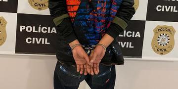 Acusado do crime foi detido pela equipe da 4ª Delegacia de Polícia de Homicídios e Proteção à Pessoa