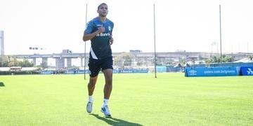 David Braz completou um ano de Grêmio nesta quarta-feira com 30 jogos realizados e quatro gols marcados