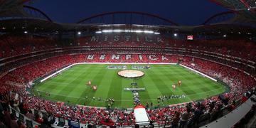 Estádio da Luz, em Lisboa, receberá partidas da Liga dos Campeões a partir do dia 12 de agosto