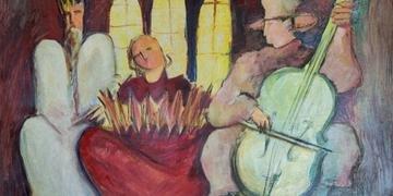 Obra 'Concerto para o Profeta' integra a mostra 'Clara Pechansky y Sus Amigas'