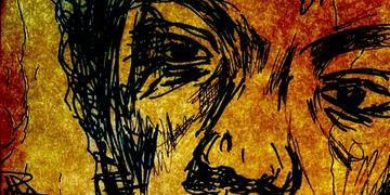 Capa do disco de Zeferina, que ganhou arte de Mauricio Tagliari, é inspirado nos valores ancestrais da religiosidade afro-brasileira