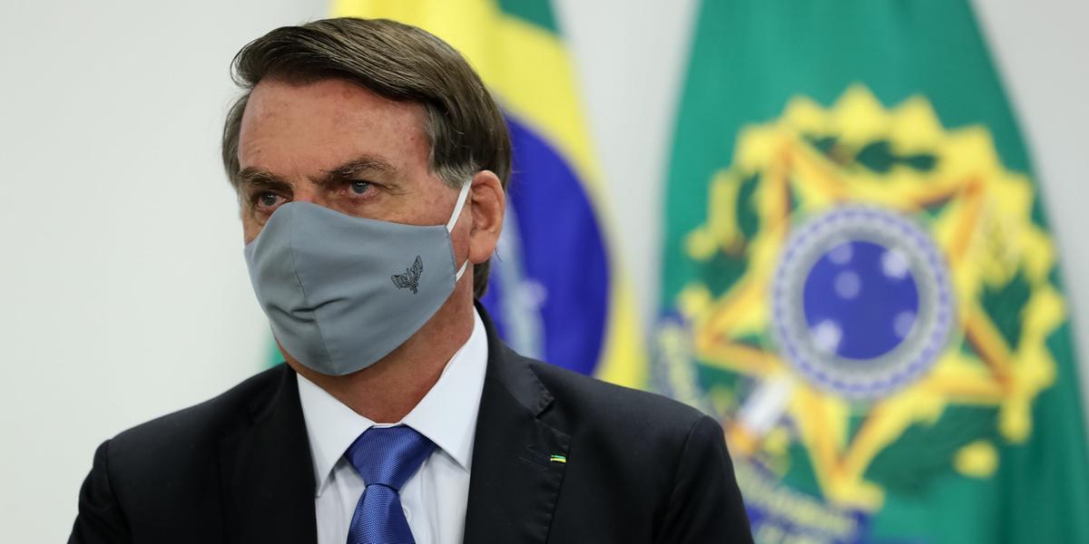 Advocacia Geral da União recorre de decisão sobre uso de máscaras por Bolsonaro