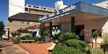 Hospital está localizado no centro de Santa Rosa