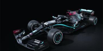 Mercedes revelou que vai correr com um carro todo pintado de preto na temporada 2020