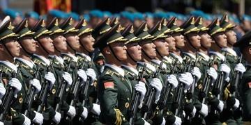 Soldados chineses serão vacinados