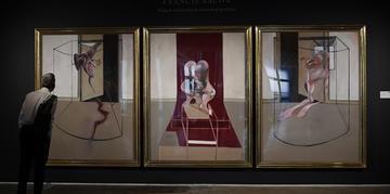 Tríptico de Francis Bacon foi vendido por 84,6 milhões de dólares na segunda-feira (29)