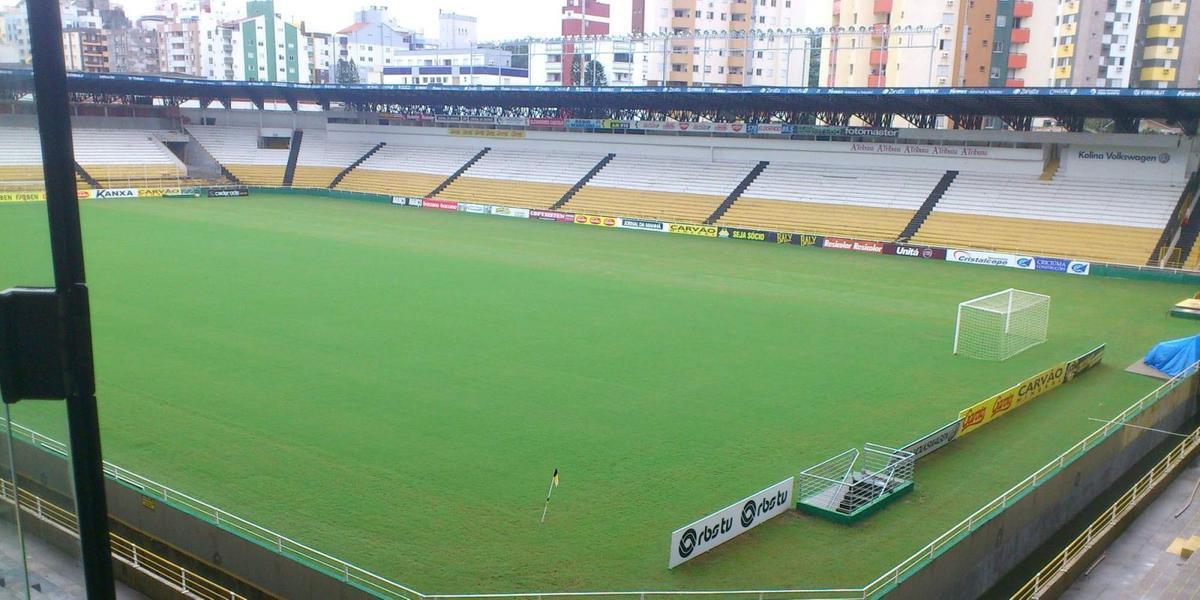 Clube ainda não informou, mas deve utilizar a estrutura do Esporte Clube Criciúma no período que ficará em Santa Catarina