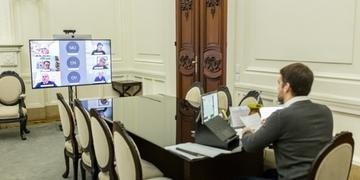 Anúncio foi feito, nesta terça-feira, em videoconferência com parlamentares estaduais e federais