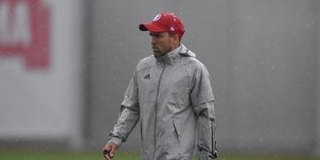 As condições climáticas fizeram o Inter cancelar o treino desta terça-feira no CT do Parque Gigante