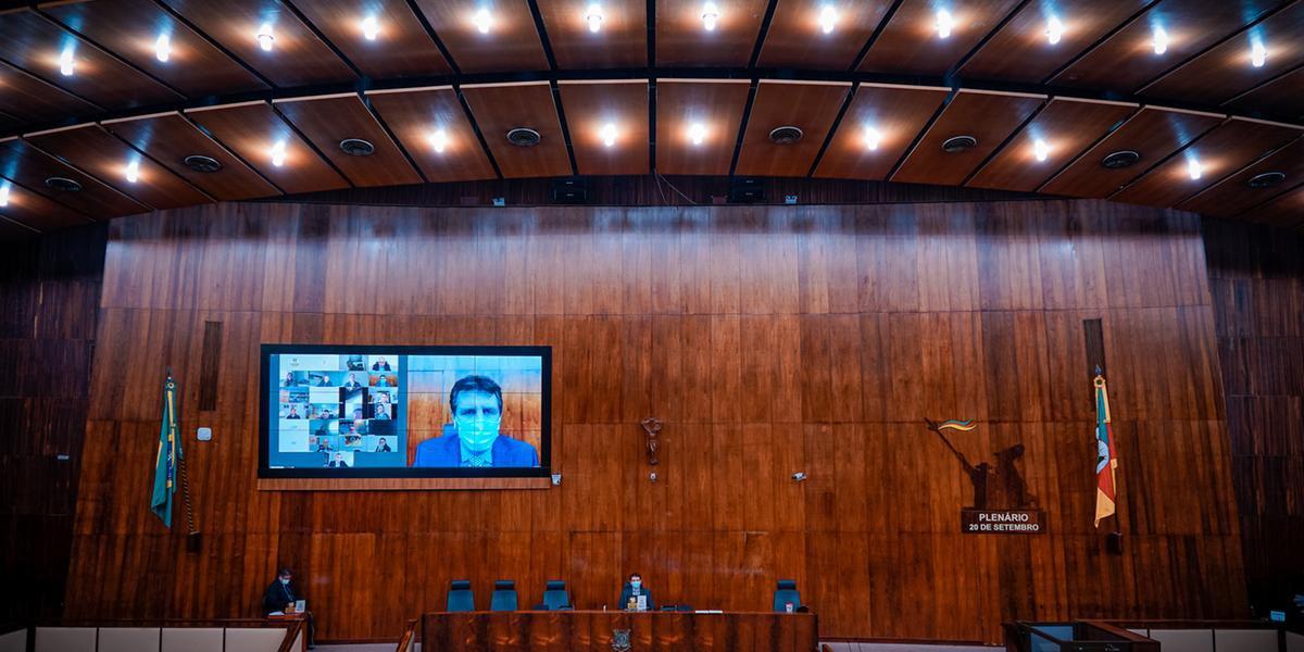 Votação dos projetos ocorreu na décima sessão extraordinária virtual