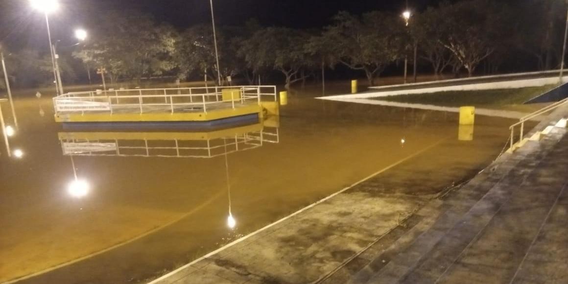 Em São Borja, a medida anotou 9,52m acima do nível normal neste sábado
