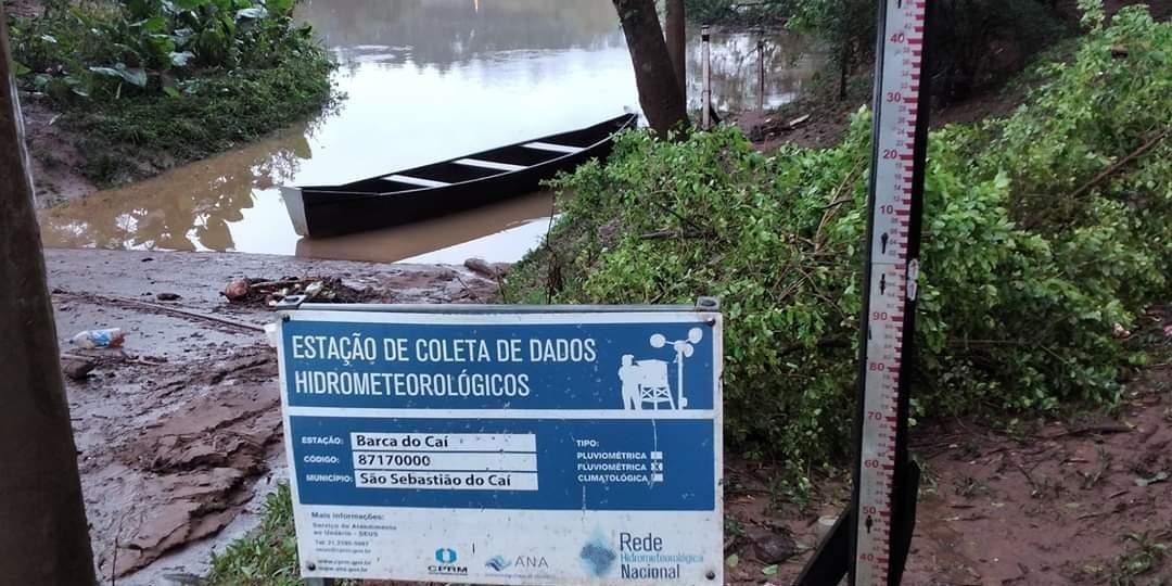 Rio Caí estabiliza, mas nível ainda é superior a 11 metros