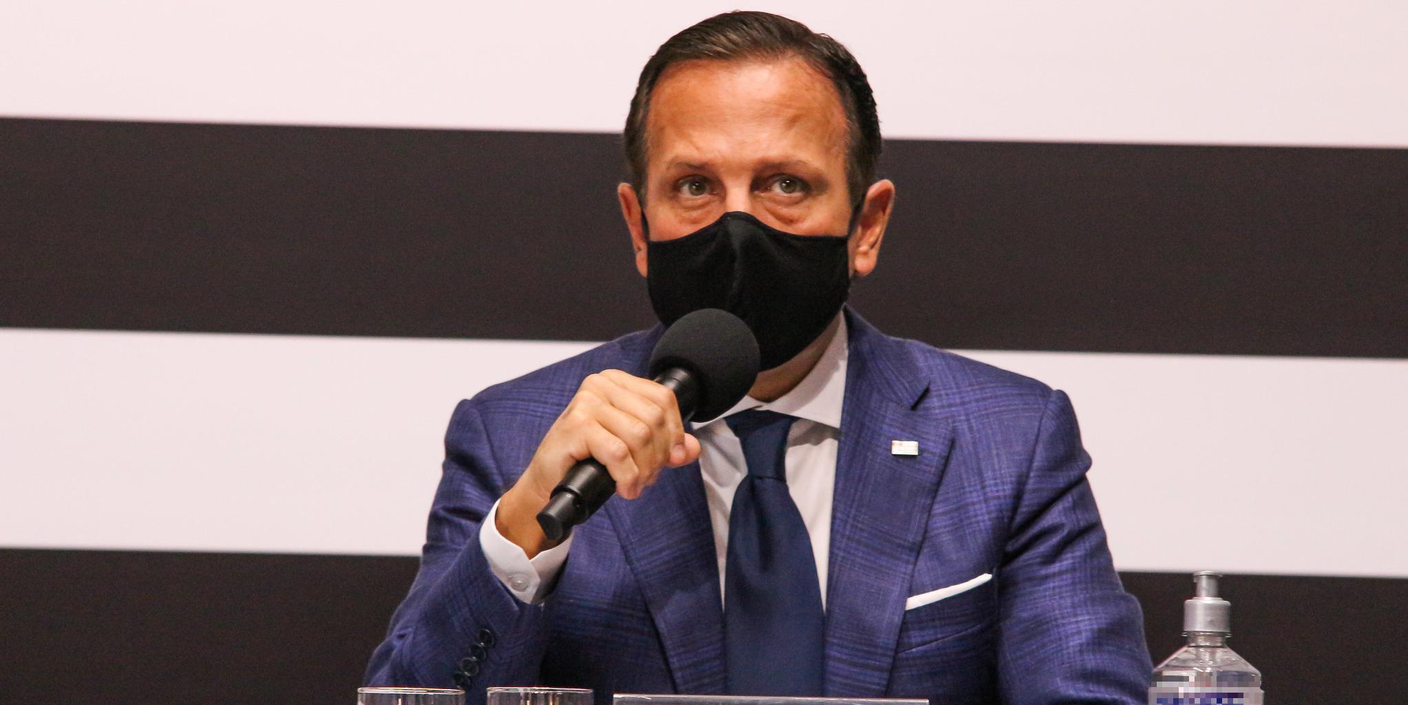 Governador João Doria classificou a abordagem dos policiais como