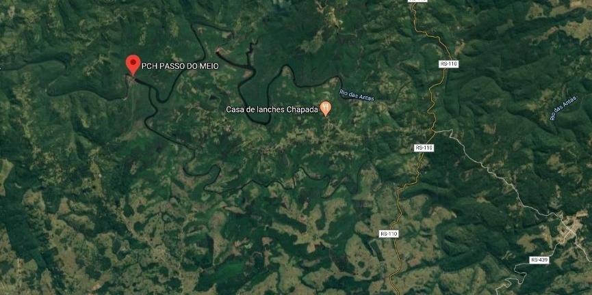 Defesa Civil Estadual emitiu um alerta para barragem Passo do Meio