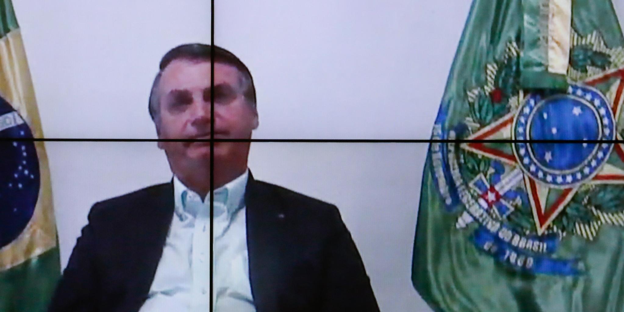 Bolsonaro pediu para AGU acionar STF sobre liberdade de expressão