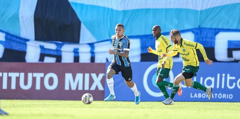 Em jogo movimentado, Grêmio e Ypiranga empatam em 1 a 1 em Eldorado Sul
