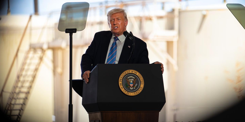 Pesquisas mostram atual presidente derrota no pleito